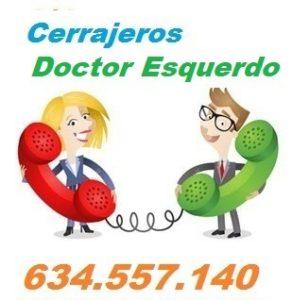 Telefono de la empresa cerrajeros Doctor Esquerdo
